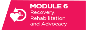recovery, rehabilitation and advocacy