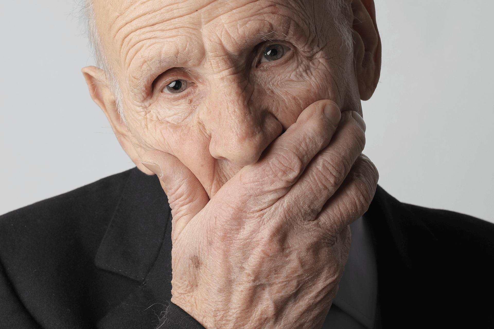 older gentleman concerned